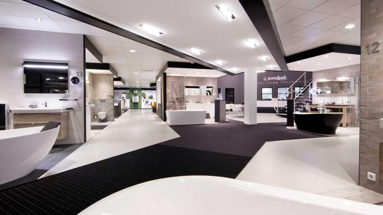 Badkamer Showroom Brabant : Showroom van heugten baddesign