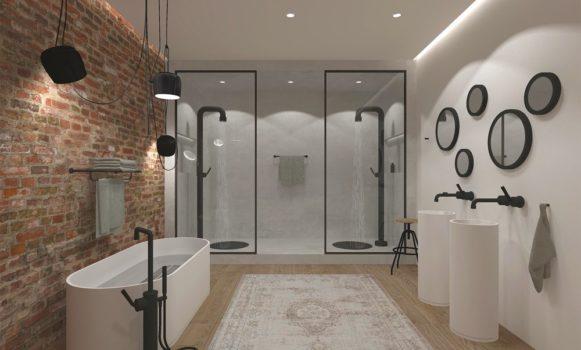 Van Heugten Badkamer Industriële stijl