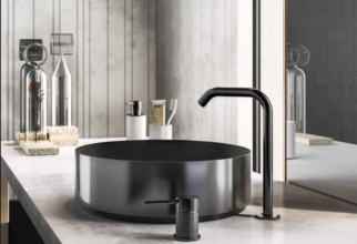Van Heugten Gessi Black Brushed