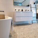 Van Heugten Terrazzo look in de badkamer