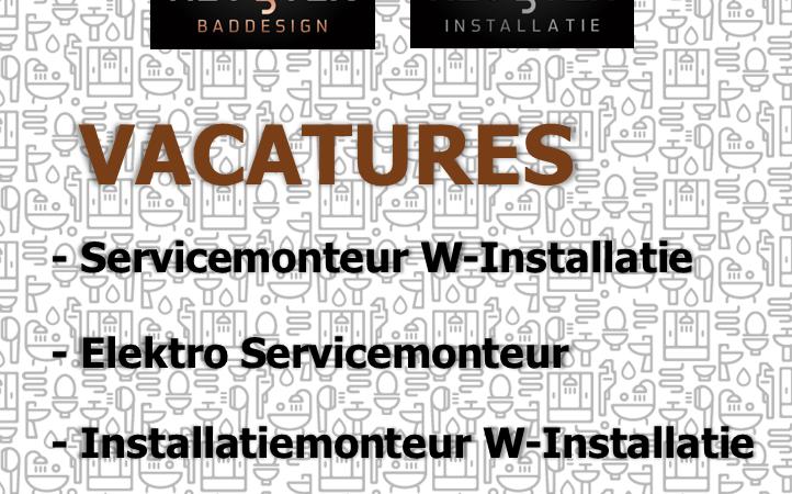 Actuele vacatures Van Heugten Baddesign en Installatie